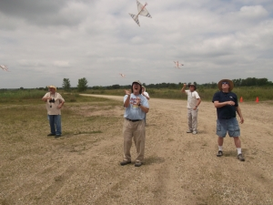 Delta Dart mass launch.
