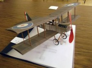 H.G. Frautschy's beautiful DH-6 peanut scale model.